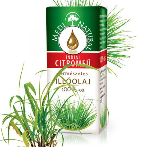 MediNatural Indiai Citromfű illóolaj 10ml