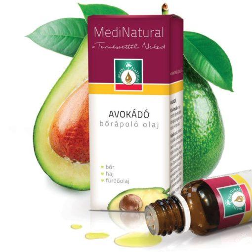 MediNatural Avokádó bőrápoló olaj 20ml