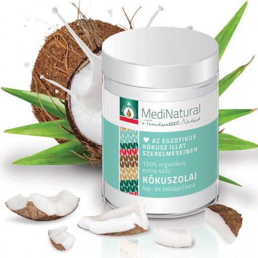 MediNatural organikus szűz kókuszolaj 100ml