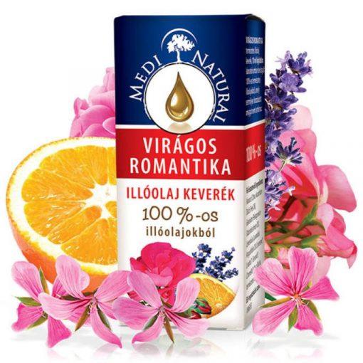 MediNatural Virágos Romantika illóolaj keverék 10ml