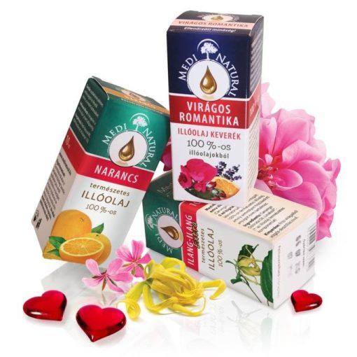 MediNatural - Aphrodité szerelem aromaterápiás illóolaj csomag 10ml, 10ml, 5ml