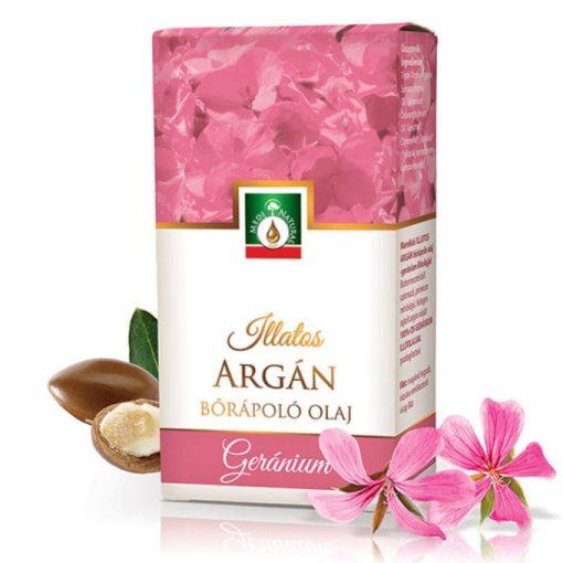 MediNatural Illatos Argán - geránium bőrápoló olaj 20ml