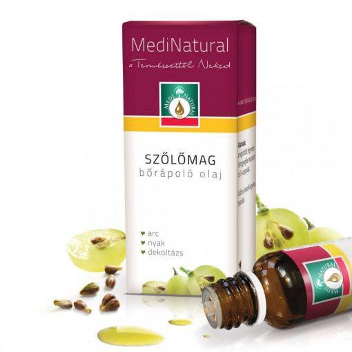 MediNatural Szőlőmag bőrápoló olaj 20ml