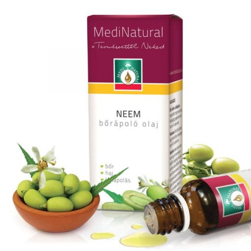 MediNatural Neem bőrápoló olaj 20ml