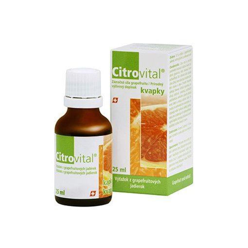 CITROVITAL Csepp (Grapefruitmag-kivonat) 25 ml