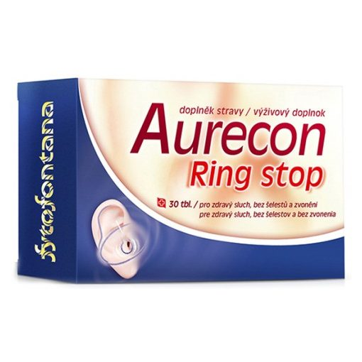 AURECON Ring stop kapszula fülcsengés ellen 30x