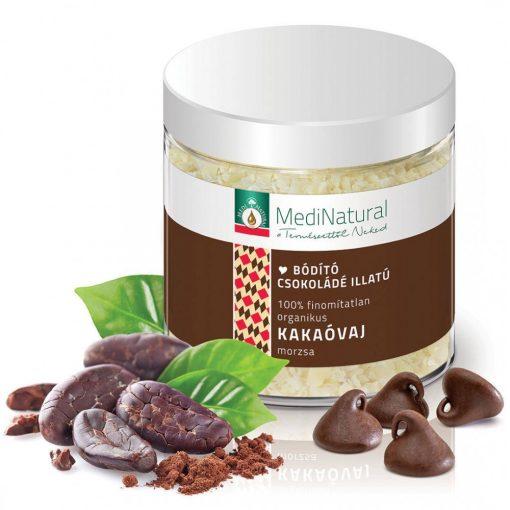 MediNatural organikus kakaóvaj morzsa 100g