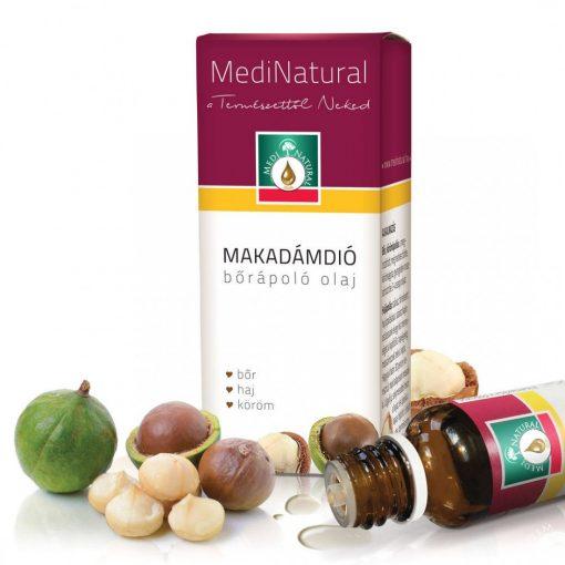 MediNatural Makadámdió bőrápoló olaj 20ml