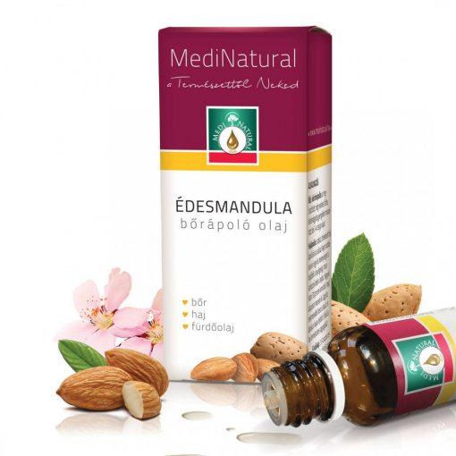 MediNatural Édesmandula bőrápoló olaj 20ml