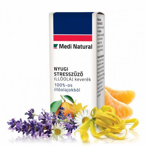 MediNatural Nyugi Stresszűző illóolaj keverék 10ml